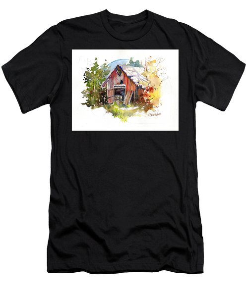 Vermont Barn Men's T-Shirt (Athletic Fit)