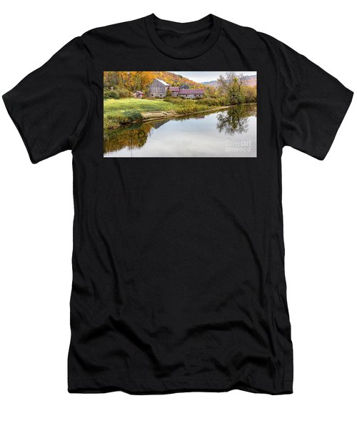 Vermont Countryside Men's T-Shirt (Athletic Fit)
