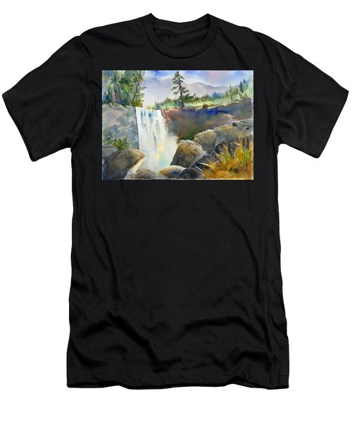 Vernal Falls Men's T-Shirt (Athletic Fit)