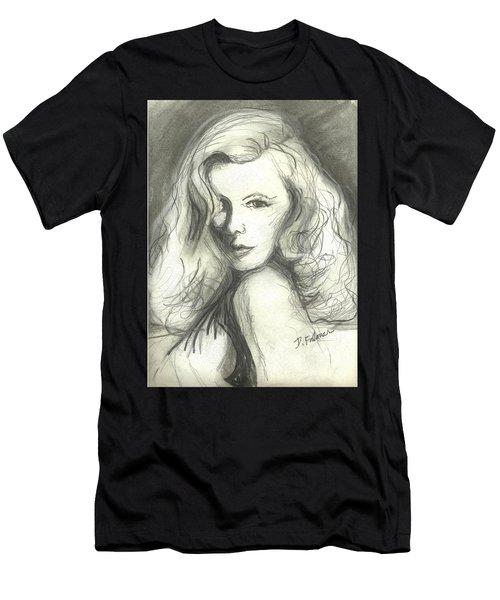 Veronica Lake Men's T-Shirt (Athletic Fit)