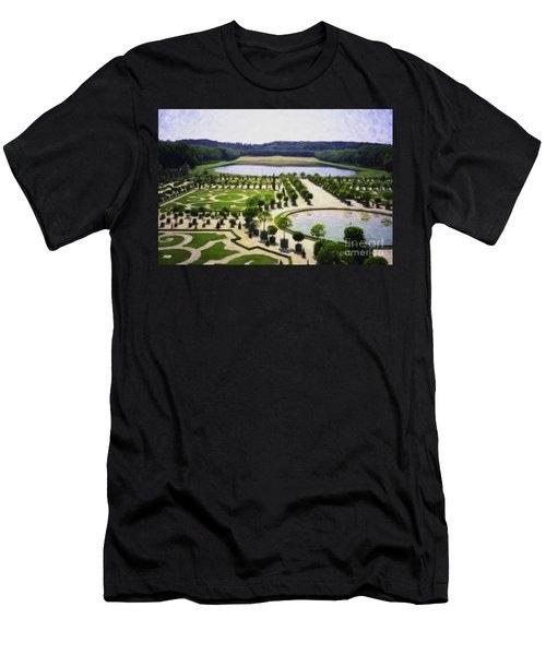 Versailles Digital Paint Men's T-Shirt (Athletic Fit)