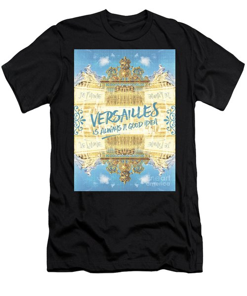 Versailles Is Always A Good Idea Golden Gate Men's T-Shirt (Athletic Fit)