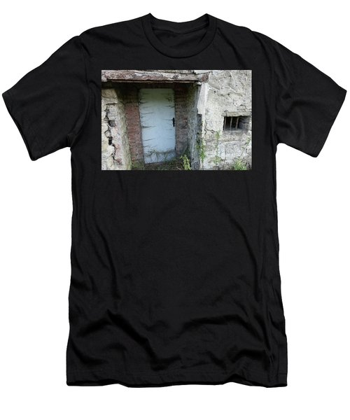 Very Long Locked Door Men's T-Shirt (Athletic Fit)