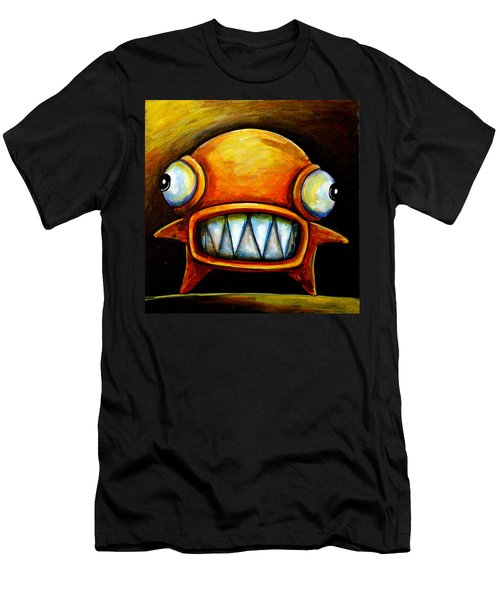 Very Scarey Glob Men's T-Shirt (Athletic Fit)
