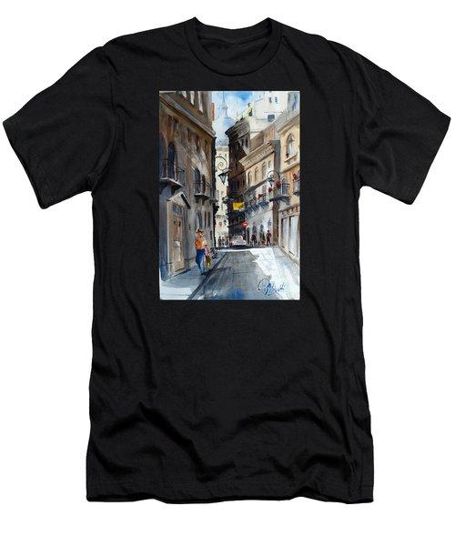 via Giardinetti  Men's T-Shirt (Athletic Fit)
