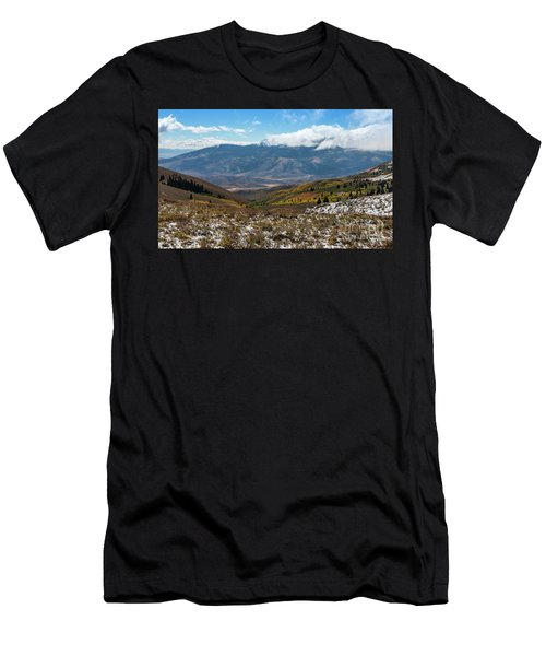Vibrance Of The Storm Idaho Landscape Art By Kaylyn Franks Men's T-Shirt (Athletic Fit)