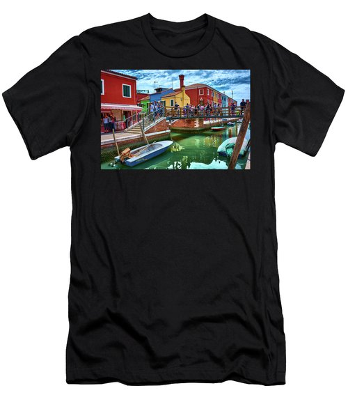 Vibrant Dreams Floating In The Air Men's T-Shirt (Athletic Fit)
