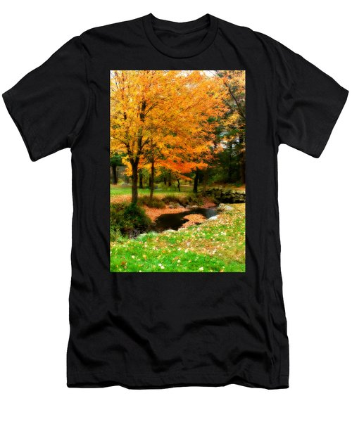 Vibrant October Men's T-Shirt (Athletic Fit)