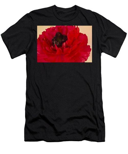Vibrant Petals Men's T-Shirt (Athletic Fit)