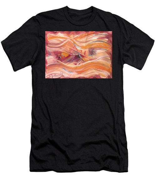 Vibrant Silk Men's T-Shirt (Athletic Fit)