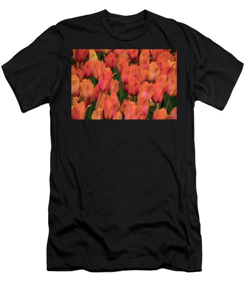 Vibrant Whispers Men's T-Shirt (Athletic Fit)