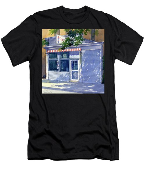 Vic's Barbershop Men's T-Shirt (Athletic Fit)