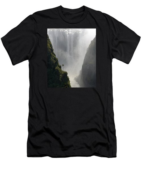 Victoria Falls No. 2 Men's T-Shirt (Athletic Fit)