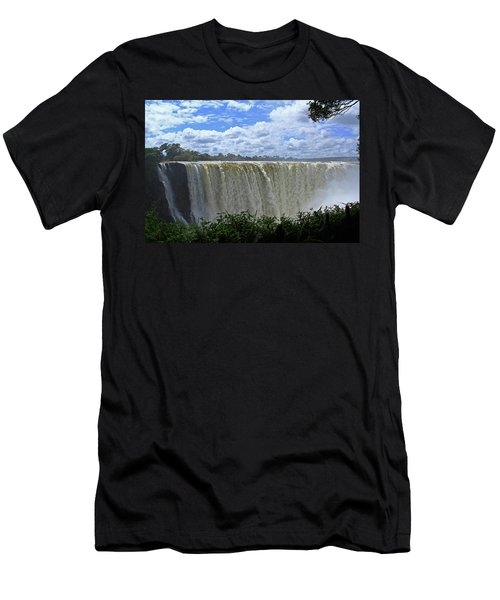 Victoria Falls Zimbabwe Men's T-Shirt (Athletic Fit)