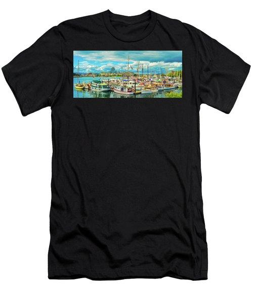 Victoria Harbor 2 Men's T-Shirt (Athletic Fit)