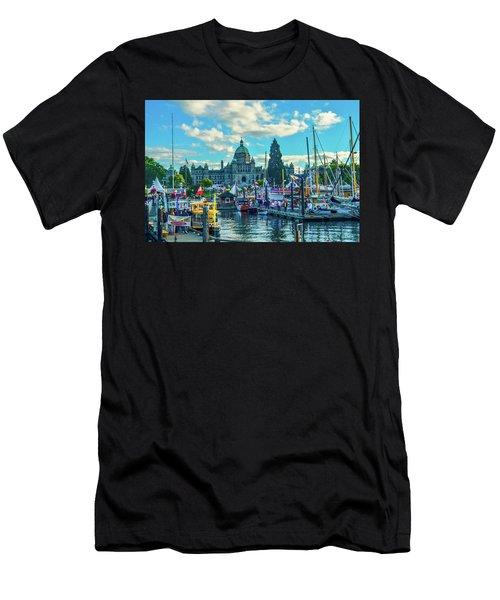 Victoria Harbor Boat Festival Men's T-Shirt (Athletic Fit)