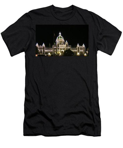 Victoria Legislative Buildings Men's T-Shirt (Athletic Fit)