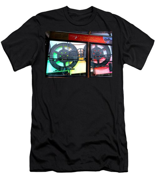 Men's T-Shirt (Slim Fit) featuring the photograph Victoria Peak 4 by Randall Weidner