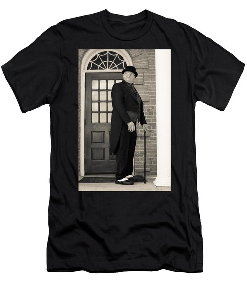 Victorian Dandy Men's T-Shirt (Slim Fit) by Fran Riley