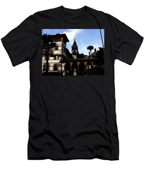 Victorian Era Hotel Men's T-Shirt (Slim Fit) by Shirley Heyn