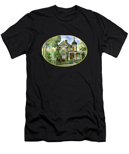 Victorian In The Avenues Men's T-Shirt (Athletic Fit)