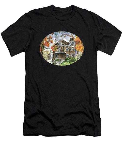 Victorian Mansion Men's T-Shirt (Athletic Fit)