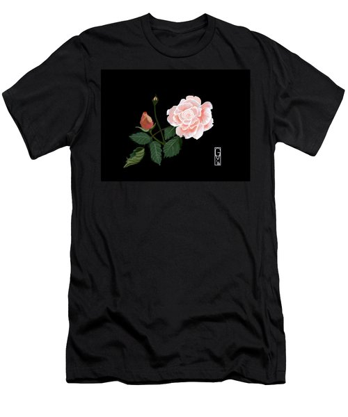 Victorian Rose Men's T-Shirt (Athletic Fit)