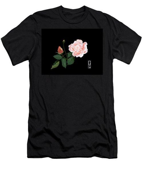 Victorian Rose Men's T-Shirt (Athletic Fit)