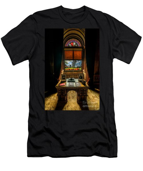 Victorian Spring View Men's T-Shirt (Athletic Fit)