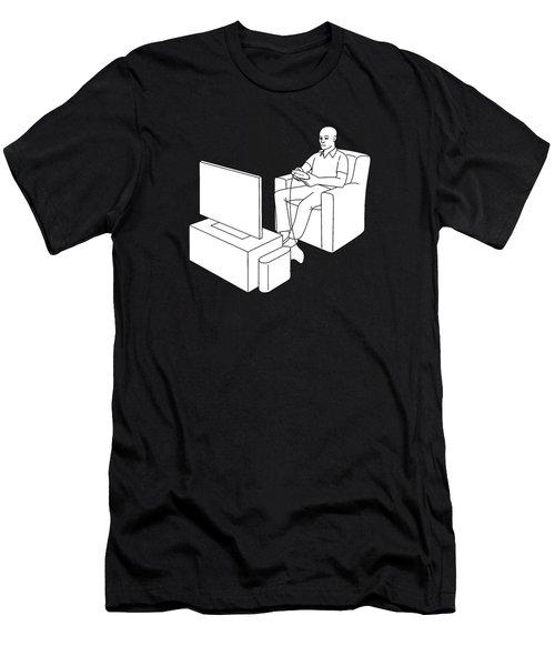 Video Gamer Tee Men's T-Shirt (Athletic Fit)