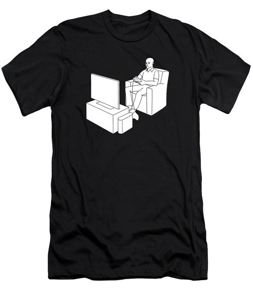 Video Gamer Tee Men's T-Shirt (Athletic Fit)