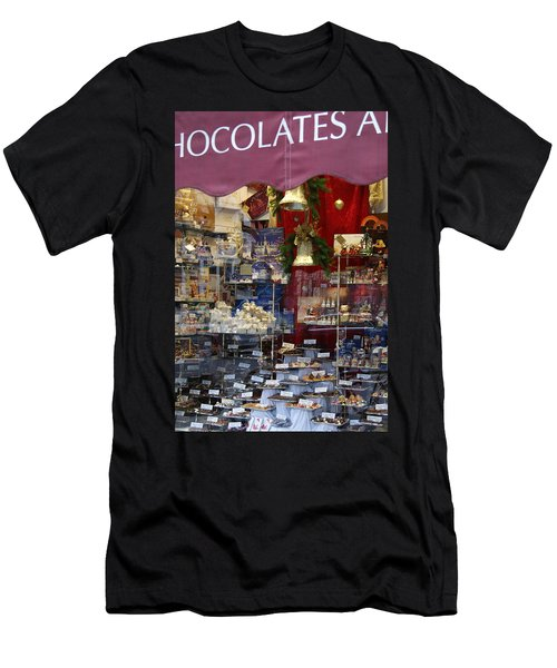 Vienna Chocolatier Shop Men's T-Shirt (Athletic Fit)