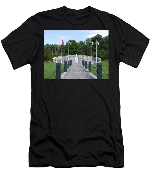 Vietnam Memorial In Vermont Men's T-Shirt (Athletic Fit)