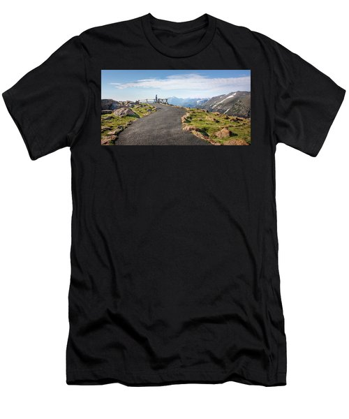 View At The Top Men's T-Shirt (Athletic Fit)