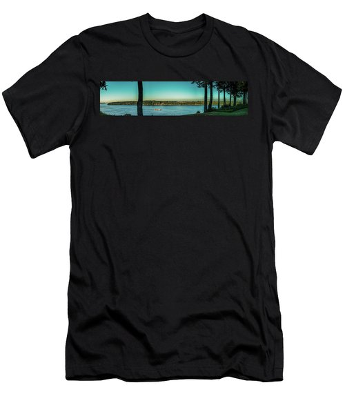 View From 11th Ave. Men's T-Shirt (Athletic Fit)