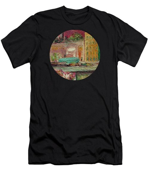 View From A Balcony Men's T-Shirt (Athletic Fit)
