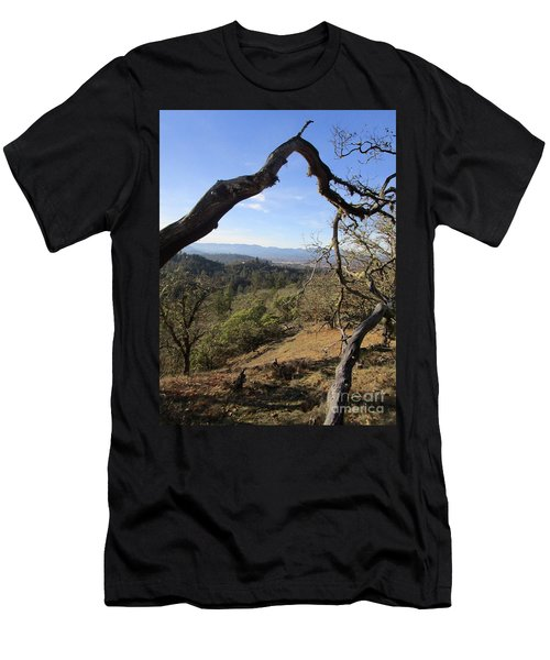 View From Cathedral Hills Men's T-Shirt (Athletic Fit)