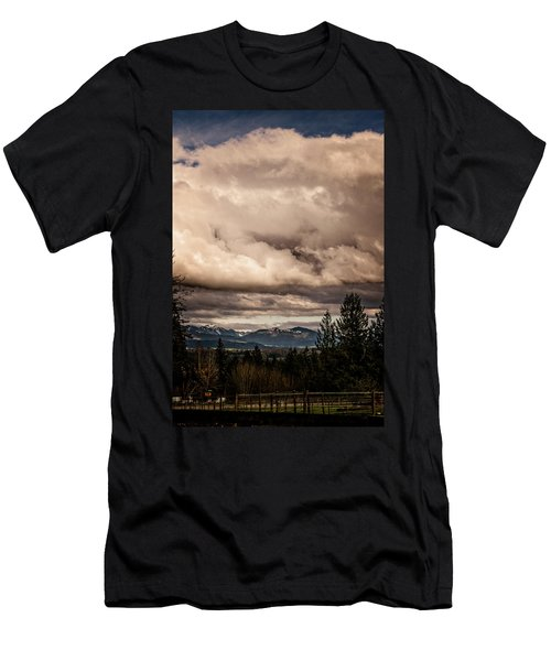 View From Flicka Farm Men's T-Shirt (Athletic Fit)