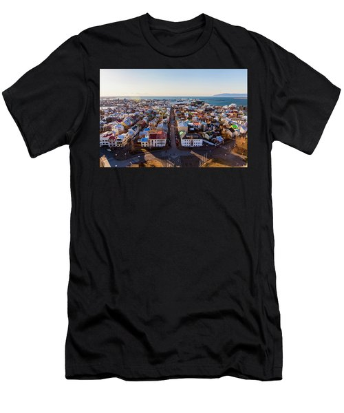 View From Hallgrimskirka Men's T-Shirt (Athletic Fit)