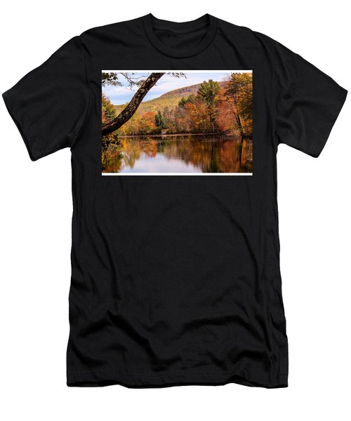 View From Manhan Rail Trail Men's T-Shirt (Athletic Fit)