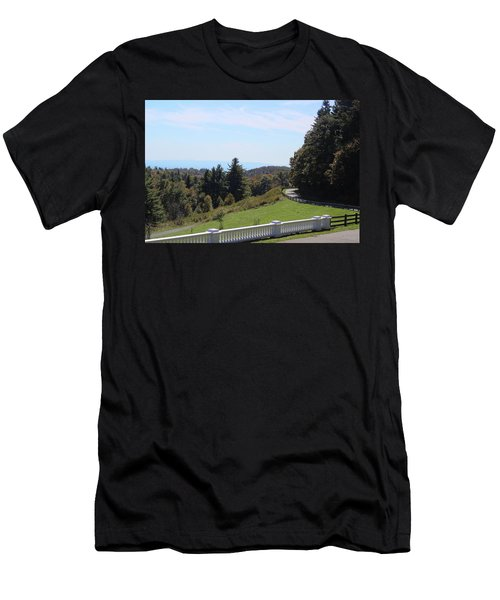 View From Moses Cone 2014a Men's T-Shirt (Athletic Fit)