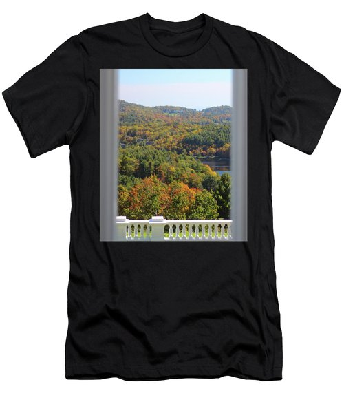 View From Moses Cone 2014b Men's T-Shirt (Athletic Fit)