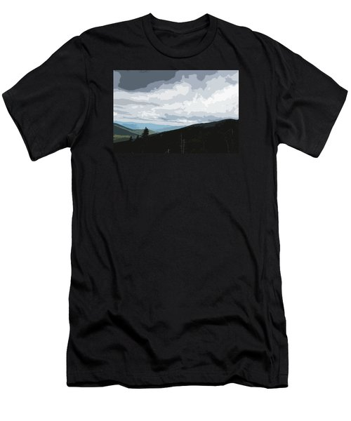 View From Mount Washington II Men's T-Shirt (Slim Fit) by Suzanne Gaff