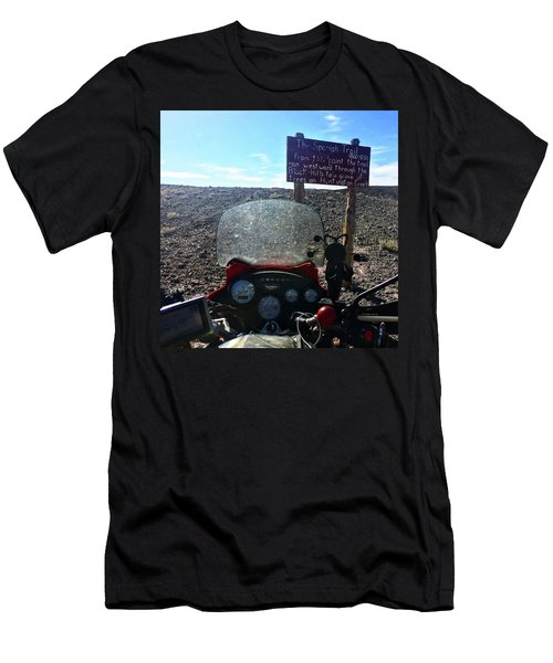 View From My Handelbars Of The Spanish Trail Men's T-Shirt (Athletic Fit)