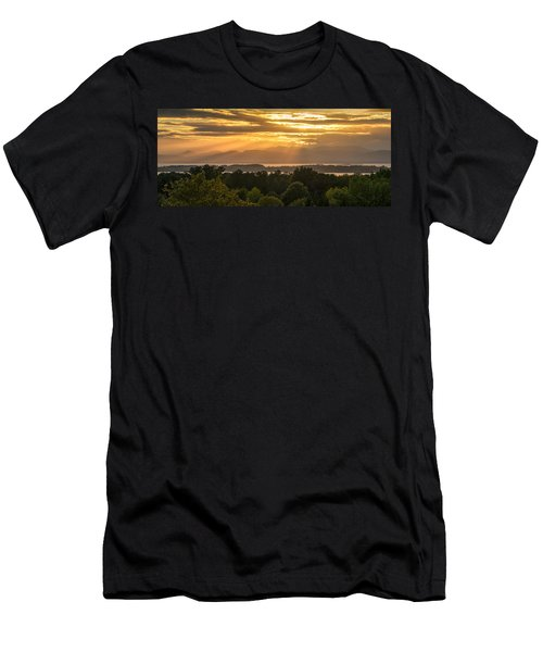 View From Overlook Park Men's T-Shirt (Athletic Fit)