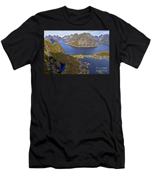 View From Reinebringen Men's T-Shirt (Athletic Fit)