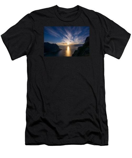 Men's T-Shirt (Athletic Fit) featuring the photograph View From Ryten by James Billings