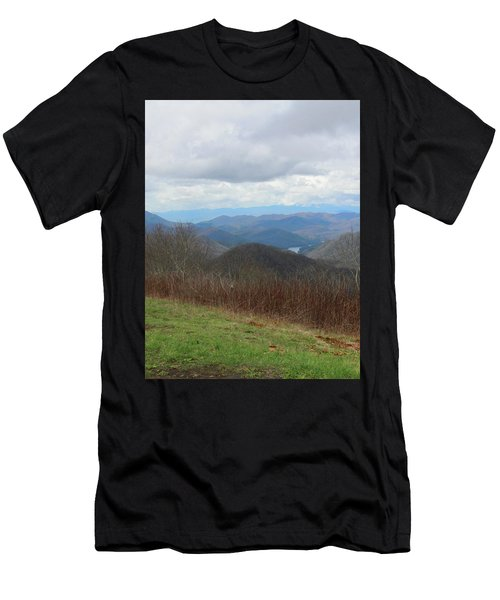 View From Silers Bald 2015c Men's T-Shirt (Athletic Fit)