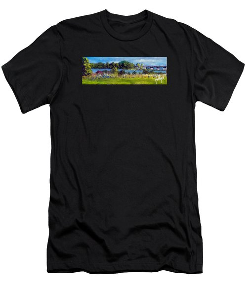 View From Sturgeon City Park Men's T-Shirt (Athletic Fit)