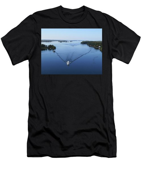 View From The Bridge Men's T-Shirt (Athletic Fit)